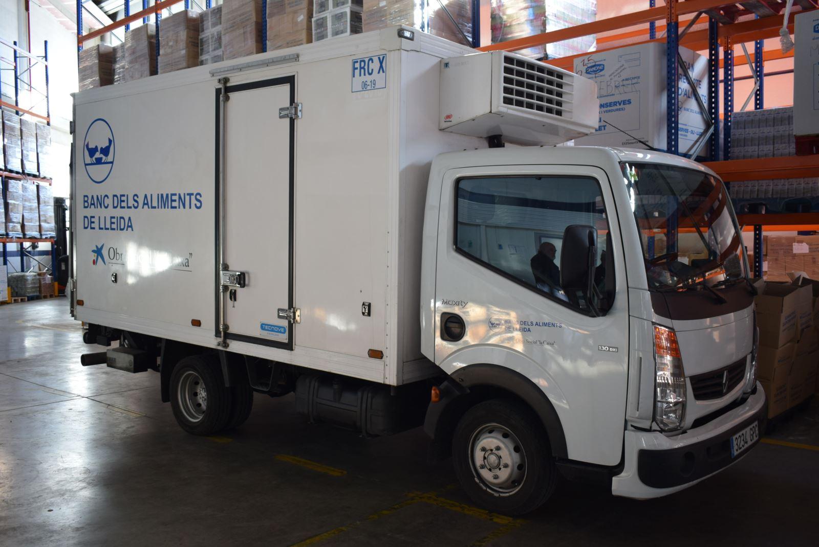 Presentació del nou camió frigorífic