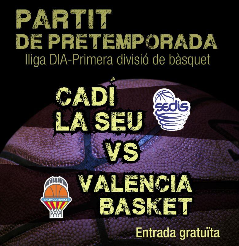 Partit de pretemporada - Lliga DIA-Primera divisió