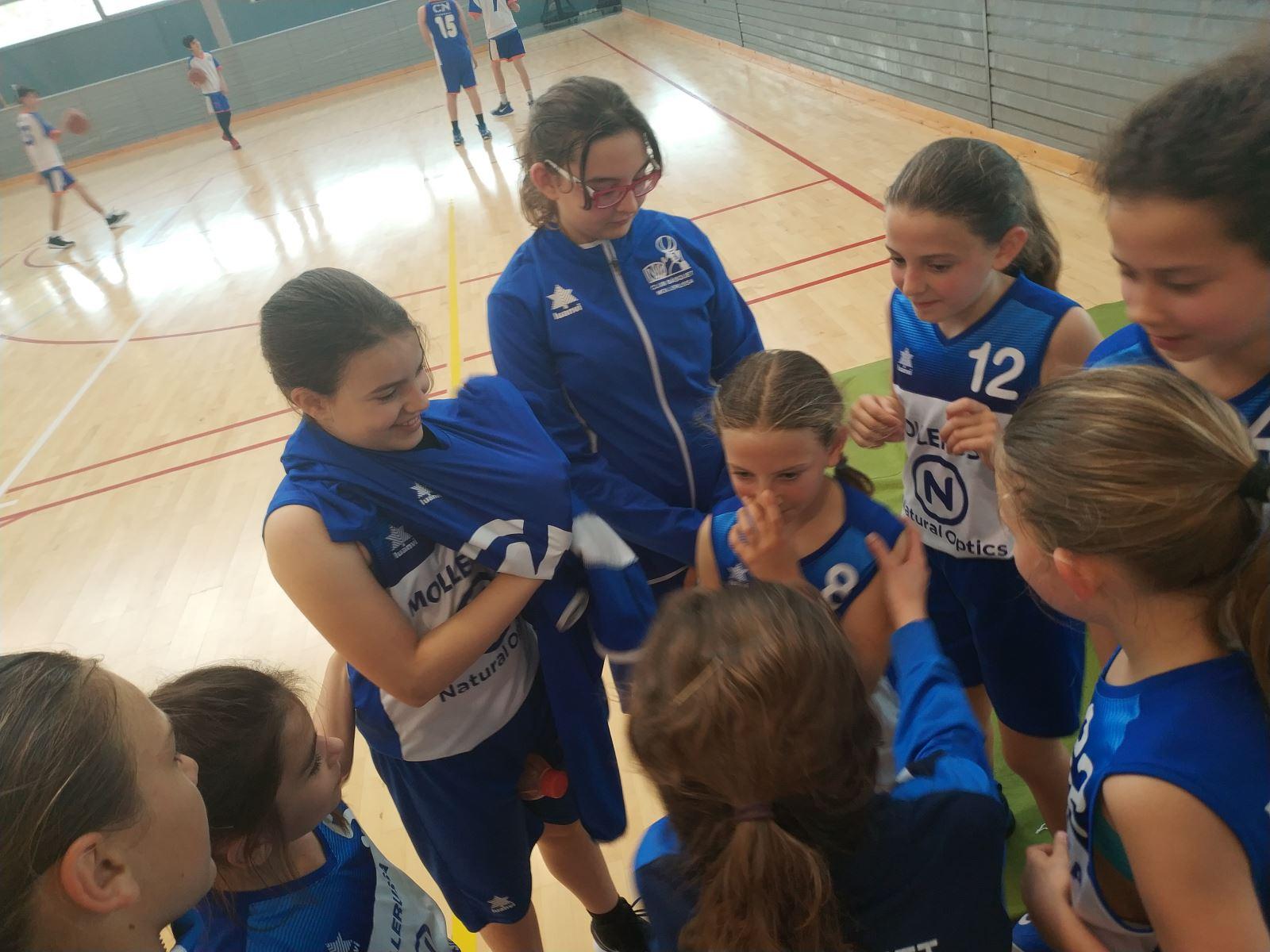 C.N. Tarrega Blau 28-45 Club Bàsquet Mollerussa (28/04/2018)