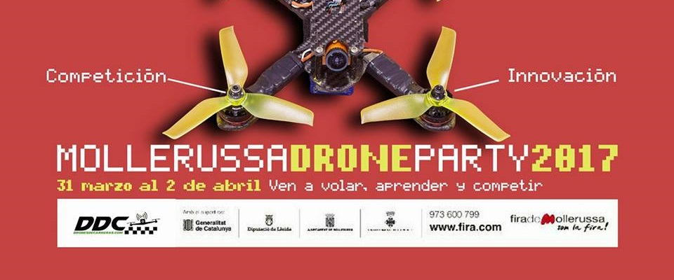 Mollerussa Drone Party