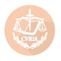 La letrada Dolores Sanahuja Cambra ante el Tribunal de Justicia de la Unión Europea