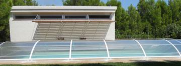 Cubierta baja para piscina Practika