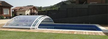 Cubierta baja de piscina Visión