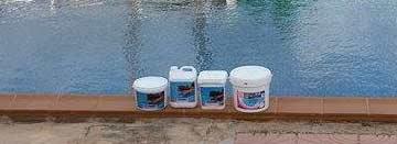 Productos para el mantenimiento de la piscina