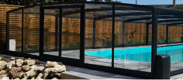 La cubierta alta para tu piscina