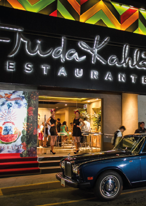 Frida Kahlo Themed Restaurant