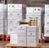 La Diputació de Lleida dóna 3.000 litres d'oli al Banc dels Aliments