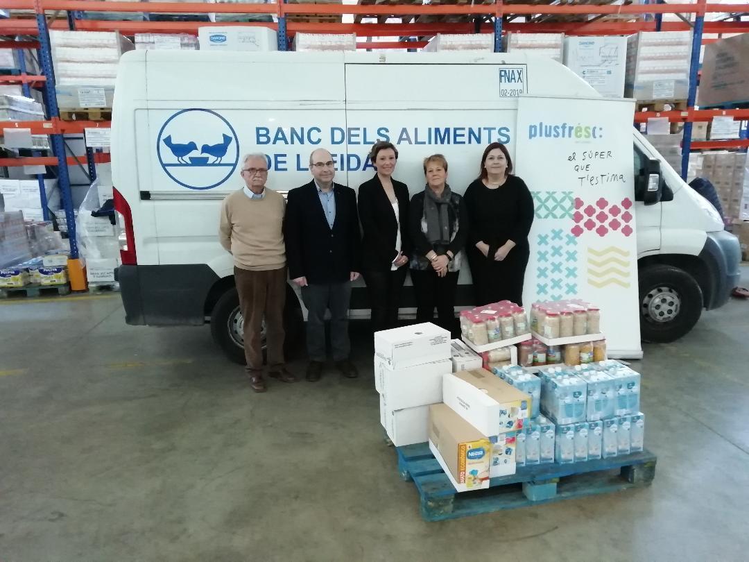 Donació d'aliments en el marc del projecte Law&Food