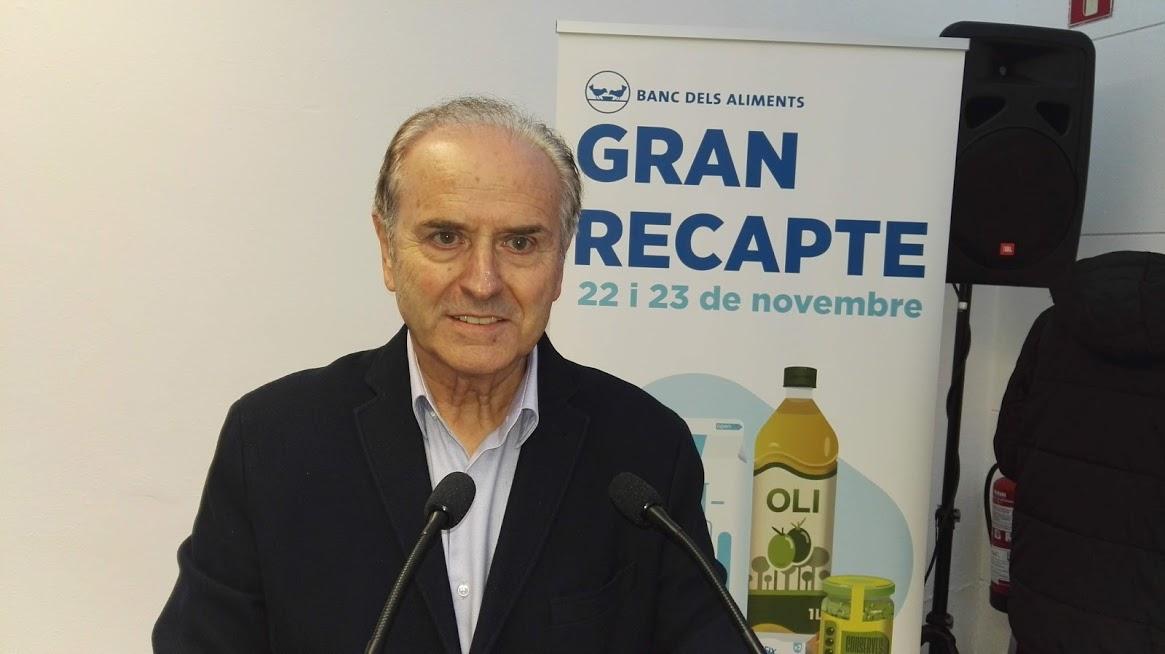 Antoni Fo, nou president del Banc dels Aliments