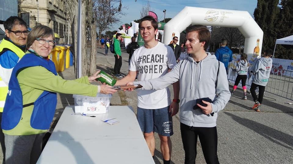 Èxit de la Cursa solidària Templers a Lleida amb Lo Recapte d'Ua1 Ràdio