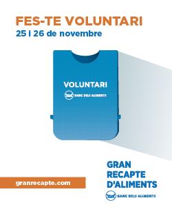 Inscripció de voluntaris per al  #GranRecapte2016