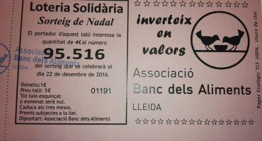 Loteria del Banc dels Aliments de Lleida