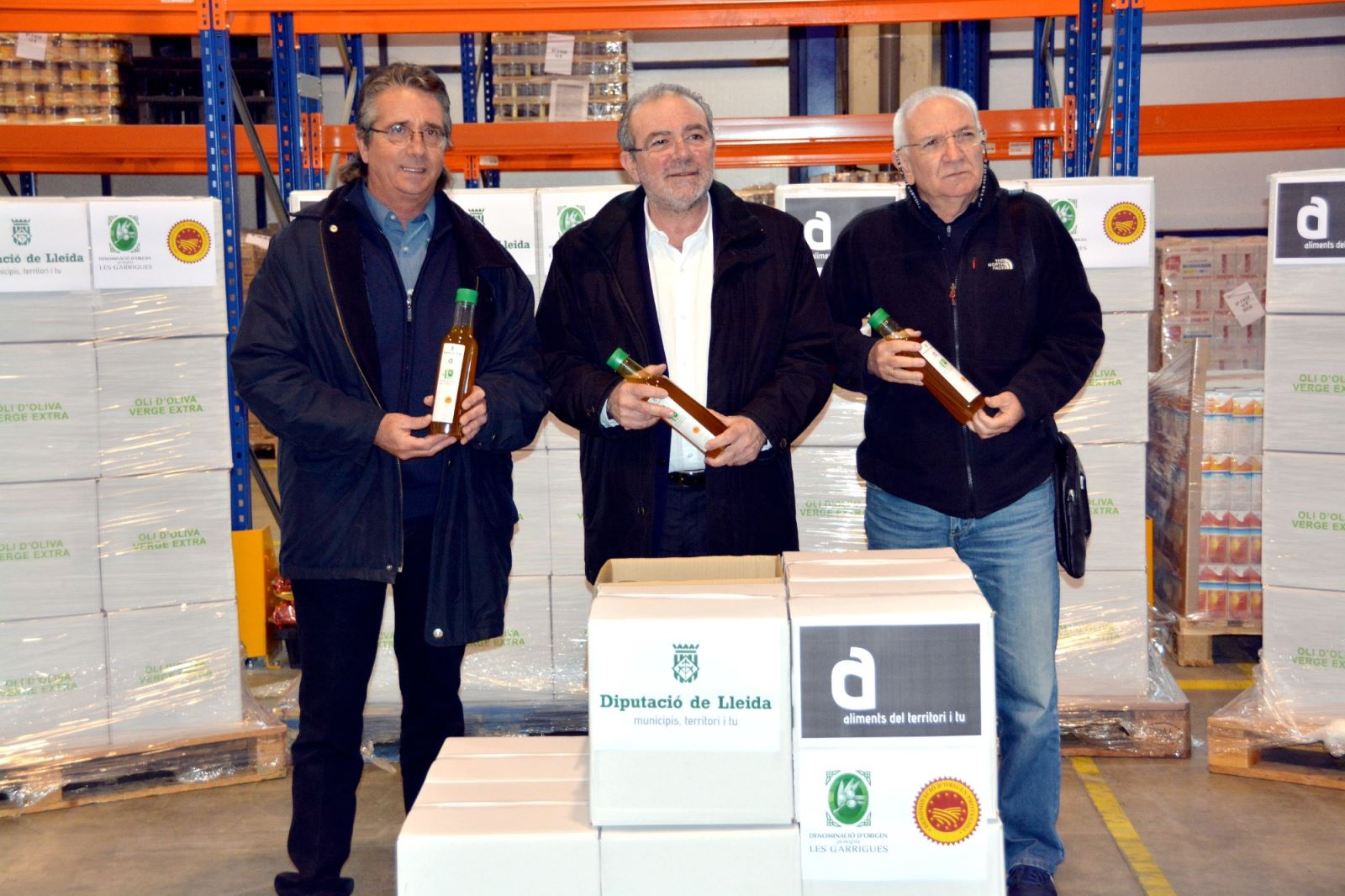 La Diputació de Lleida col·labora amb el Gran Recapte