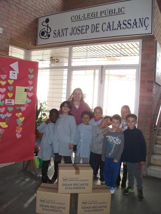 Taller dels Cstellers al col·legi Sant Josep de Calassanç