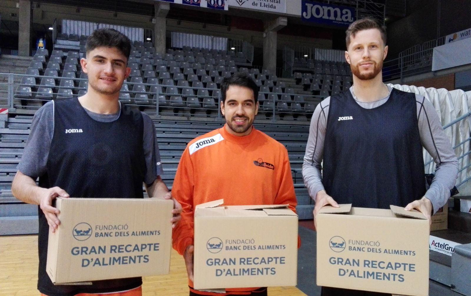 El Força Lleida col·labora amb el Gran Recapte