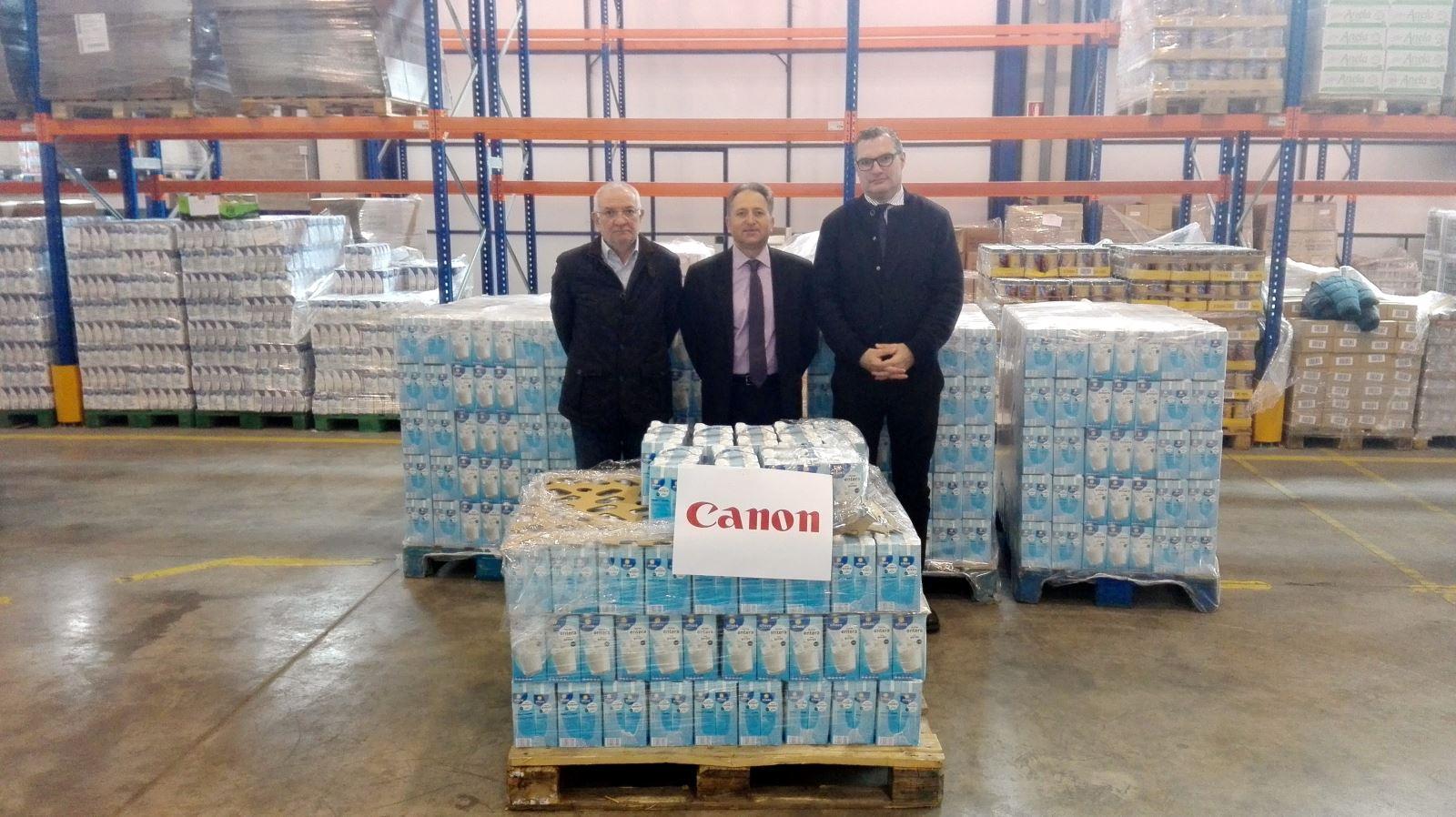 Canon Lleida dona 3500 litres de llet