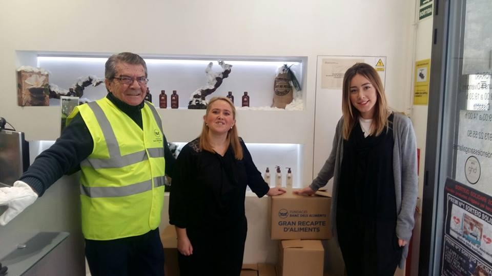 Donació de productes d'higiene per part de Sara Gallart Tendències