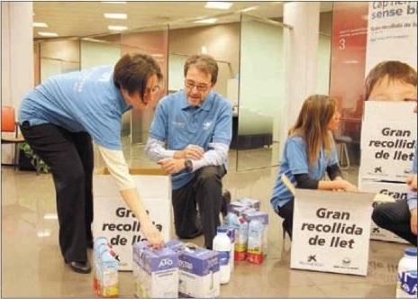 Cap nen sense bigoti: recollits 473.000 litres de llet