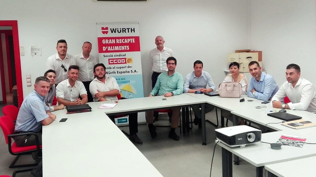 Visitem les instal·lacions de Würth