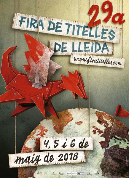 Cartell de la 29 Fira de Titelles de Lleida