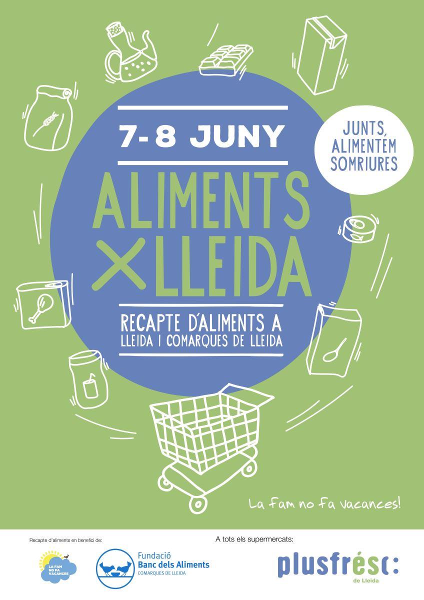 Nova edició d'Aliments per Lleida