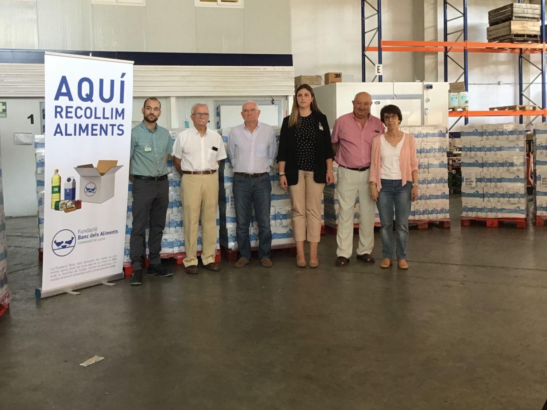 Mercadona dóna 13.500 litres de llet
