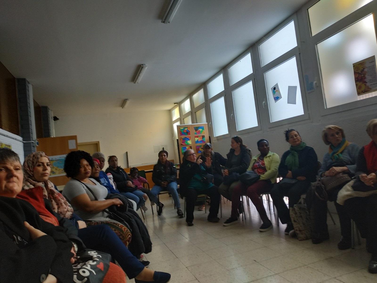 Participants d'un dels tallers