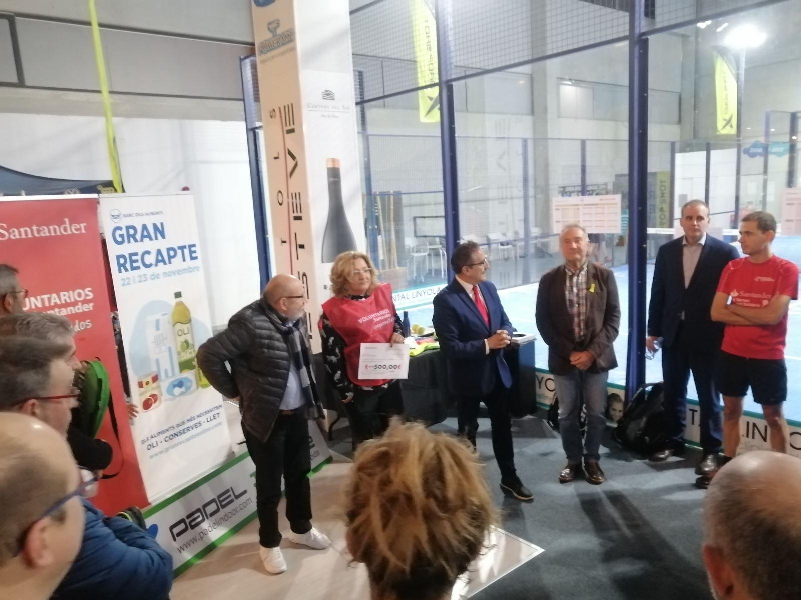 P� del Solidari del Banc Santander