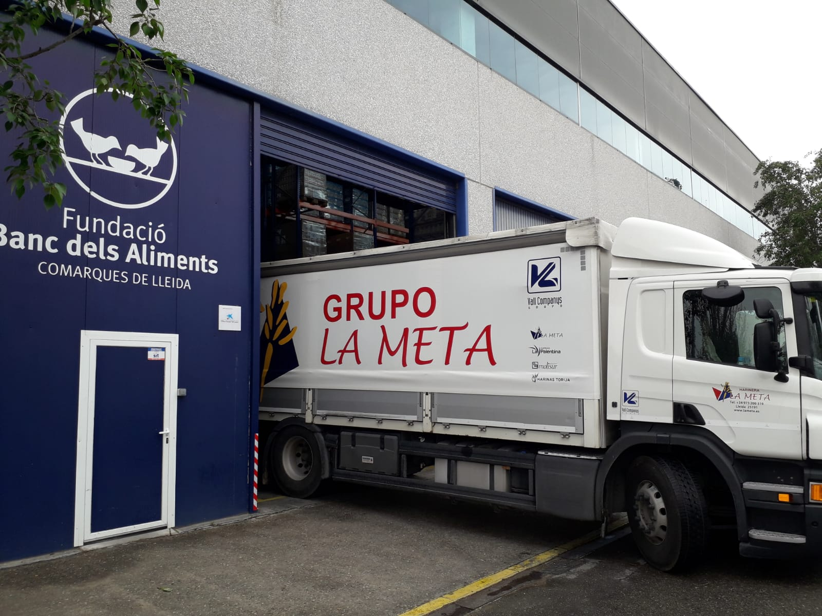 La farinera La Meta dona 20.000 kg de farina