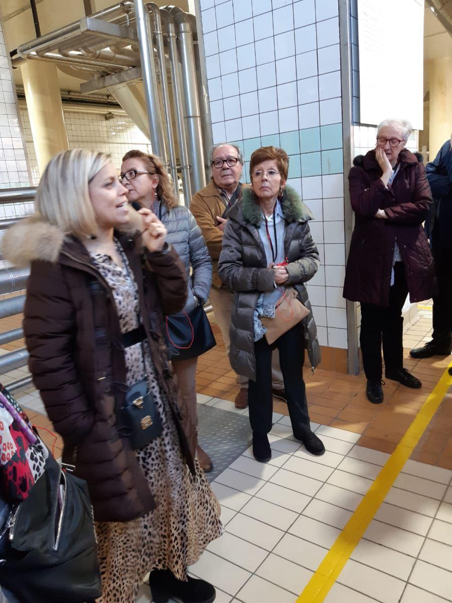Visita al centre de producció de Mahou SanMiguel a Lleida