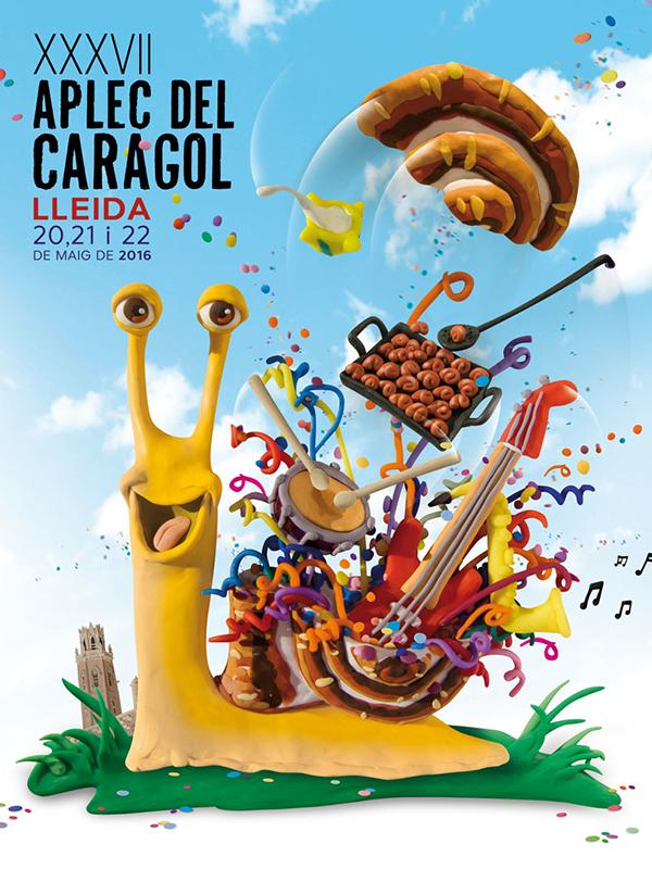 Cartell de l'Aplec del Caragol 2016