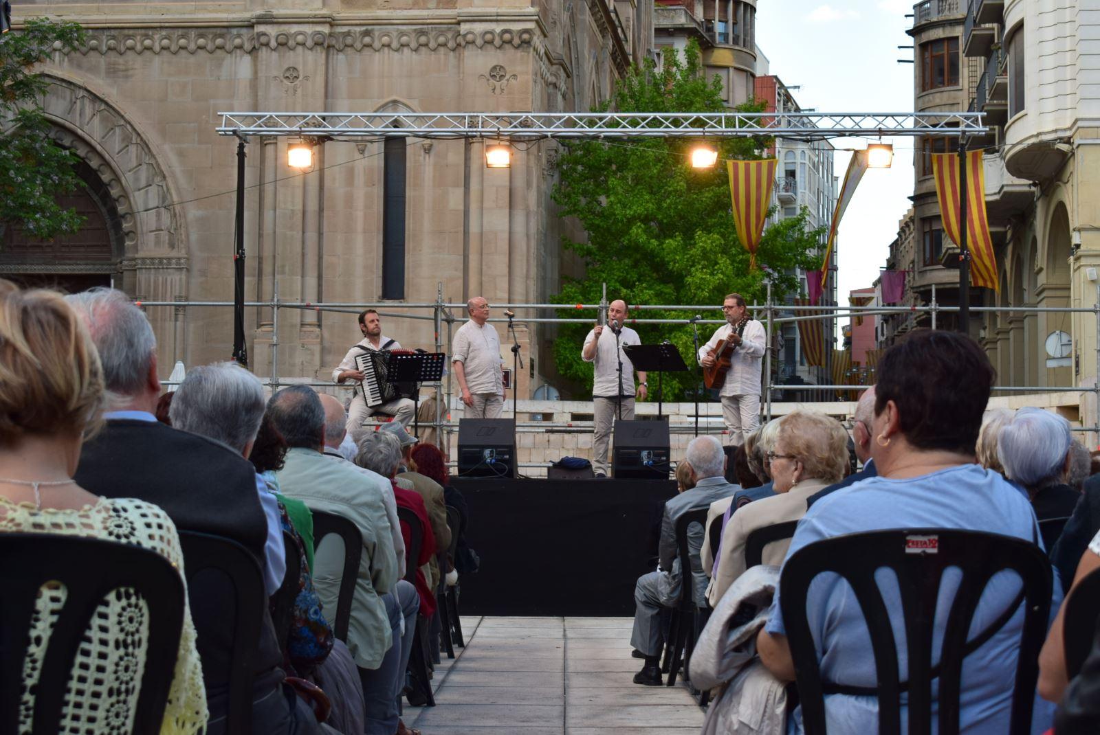 Actuació a la Festa Major de Lleida 2017