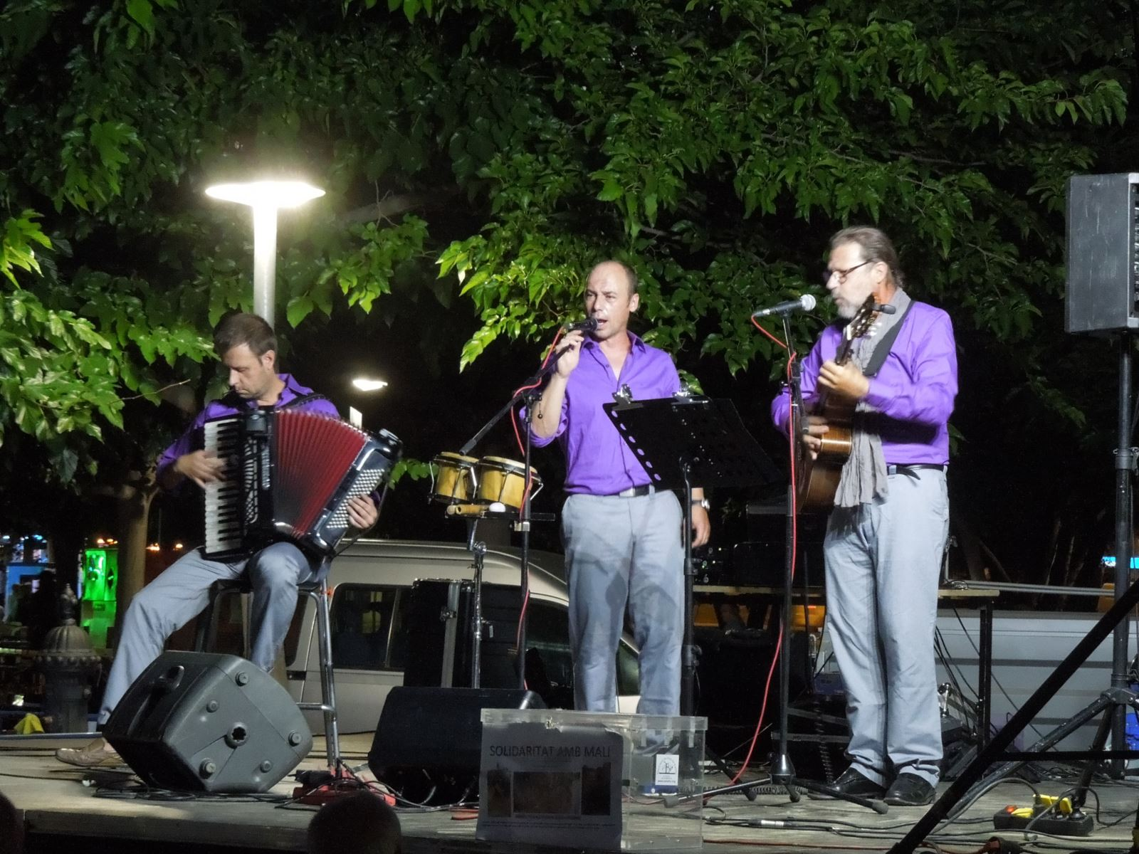 Actuació del Grup Boira Havaneres a la Festa Major de Balàfia (Lleida)