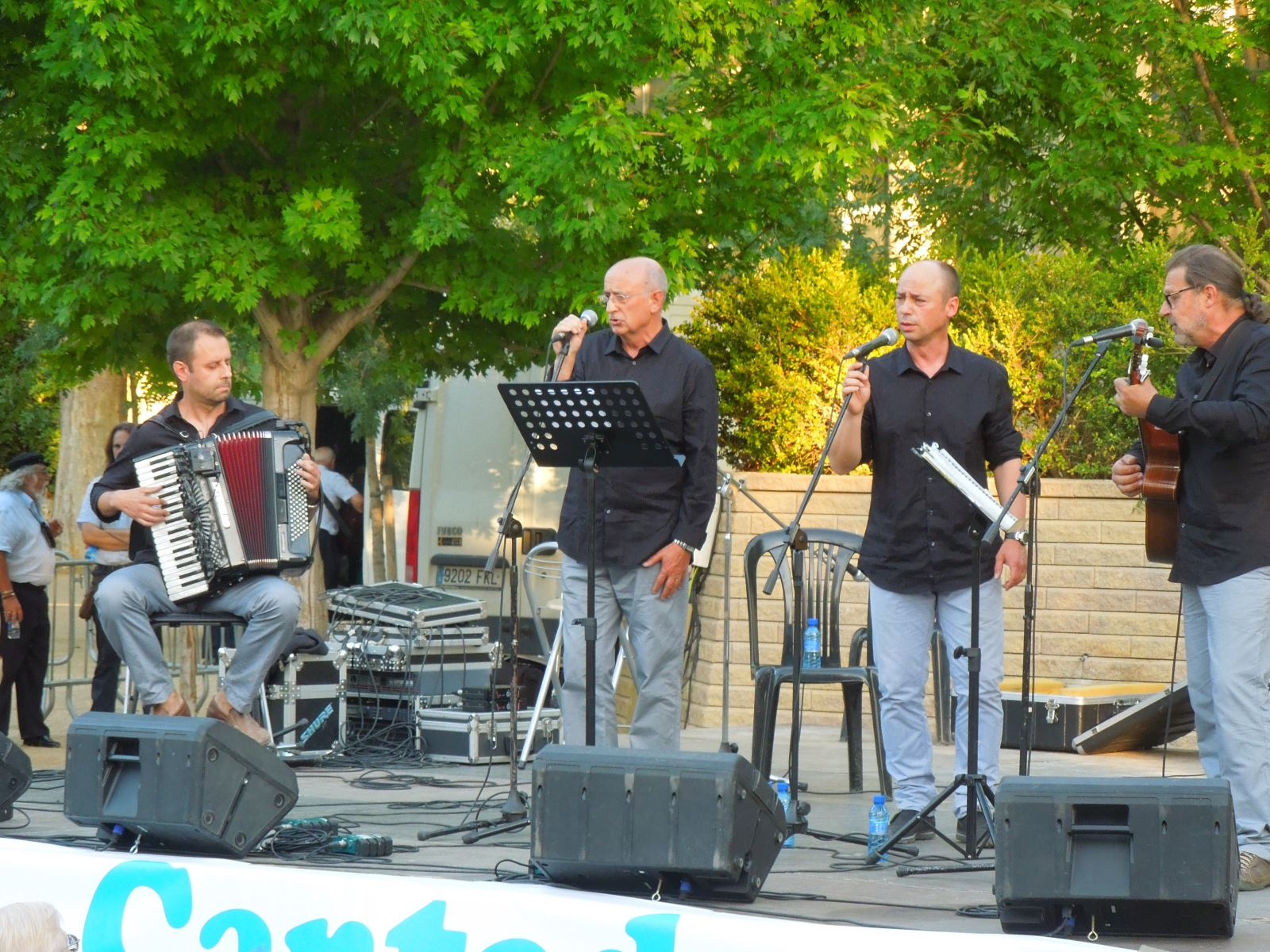 Actuació a la XXII Cantada d'Havaneres de l'Aplec del Caragol de Lleida 2015