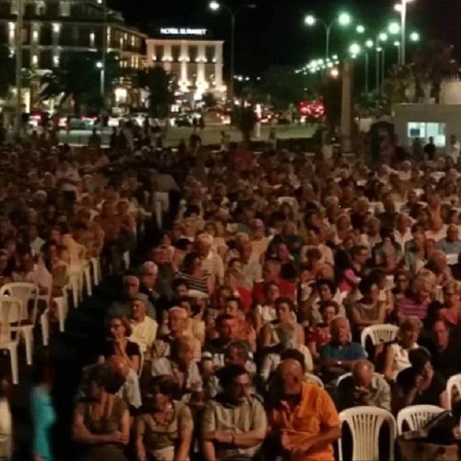 Una petita mostra del públic assistent a la Cantada
