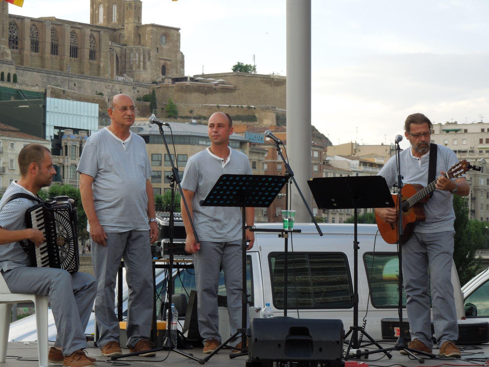 Propera actuació: 8 d'agost, XII Cantada d'Havaneres de la Costa Daurada. A Calafell.