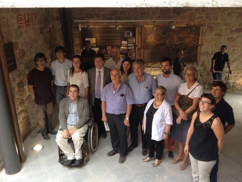 Càrrecs públics i col·laboradors en el projecte del castell