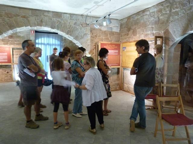 Visites a la sala d'exposicions