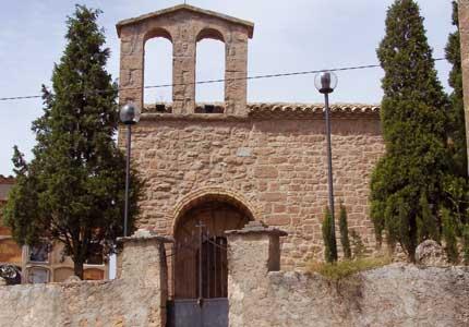 Santa Maria, a les Coromines.