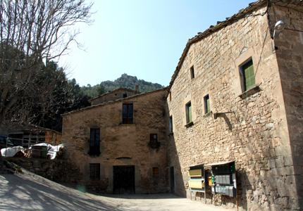 El castell des del molí.