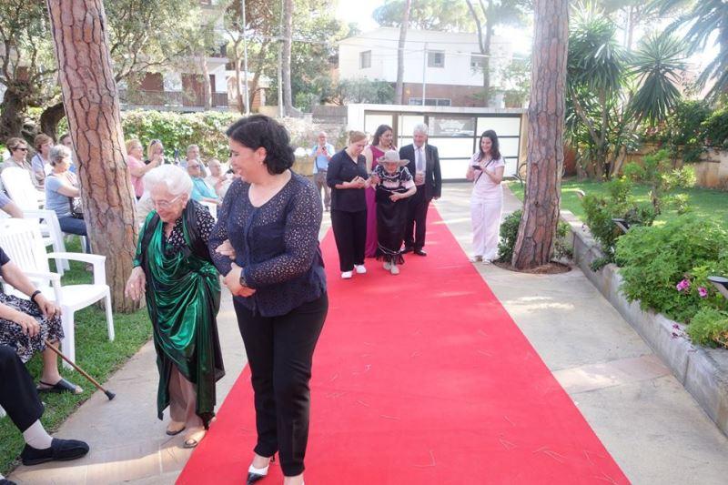 Un desfile de moda en el que participaron tanto residentes como personal del centro