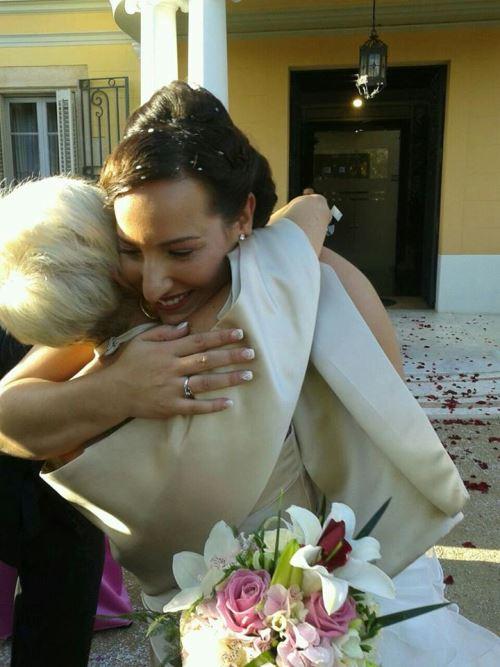 Foto de la boda de Estefanía