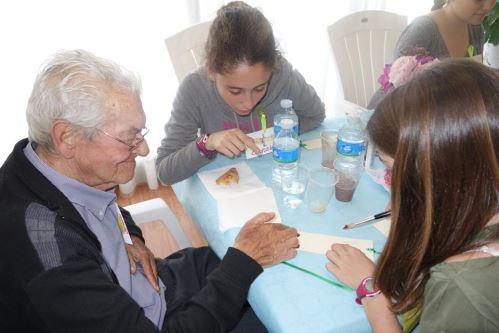 Comida y actividades con los alumn@s del colegio Bon Soleil