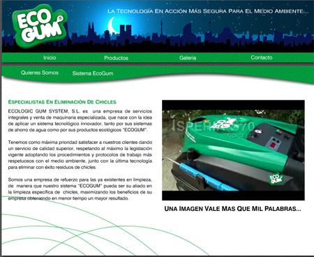 web ecogum services