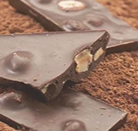 Delicias de chocolate y nata