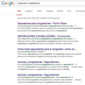 Ayudamos a Termic Paper a ser el primero en Google
