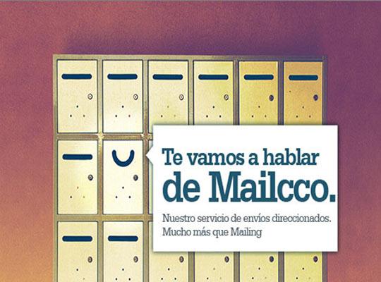 Emailing de de presentación de Mailcco, el servicio de direccionados de Traycco- Snik Comunicación