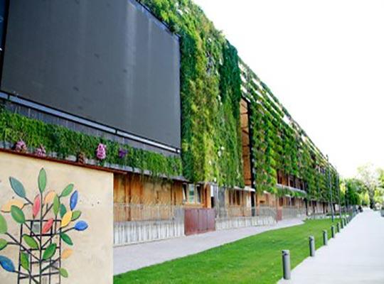 Aplicación interactiva para la pantalla del jardín vertical de Tarragona - Snik Comunicación