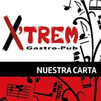 Idea, conceptualización y diseño de la carta gastronómica para el restaurante Xtrem. Los servicios que ofrece este novedoso esta gastro-pub son muy diversos.
