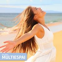 Diseño de flyer en formato vertical para la empresa Pilates Multiespai para promocionar sus nuevas actividades y erforzar también la nueva imagen corporativa de temporada.